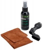 Rocktile GPS-2 Gitarrenpflegeset Politur, Tuch & Saitenkurbel