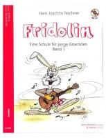 Fidolin 1 - Eine Schule für junge Gitarristen, Band 1 + CD