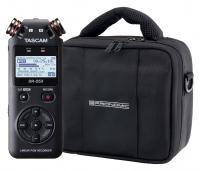 Tascam DR-05X Digitalrecorder Set mit Tasche