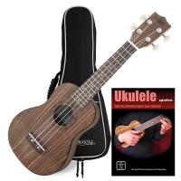 Classic Cantábile Ukulele Soprano Walnut