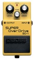 Boss SD-1 Super OVERDRIVE VALVE SOUND A PEDALE sd1