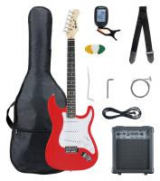 McGrey Rockit E-Gitarre ST-Komplettset Fiesta Red - Retoure (Zustand: sehr gut)