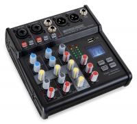 Pronomic B-403 Mini-Mixer mit Bluetooth® und USB-Recording