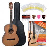 VGS Pro Arte CM-130 Maestro Konzertgitarre 4/4 Starter Set