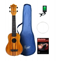 Flight TUS53 Mahagony Travel Sopran Ukulele Set