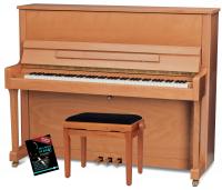 Feurich Mod. 122 Universal Piano Set Buche