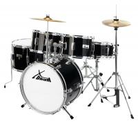 XDrum Session Junior Pro Set de batterie Black (4-9 ans)
