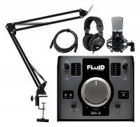 Fluid Audio SRI-2 2.0 Audiointerface Podcast Set
