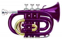 Classic Cantabile Brass TT-400 Bb-Taschentrompete violett - Retoure (Zustand: wie neu)