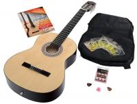 Calida Benita concertgitaar set 4/4 natuurel met toebehoor