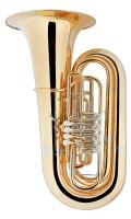 B&S GR55 5/4 Bb Tuba Goldmessing klarlackiert