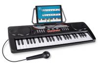 McGrey BK-4910BK Keyboard mit 49 Tasten und Notenhalter Schwarz - Retoure (Zustand: sehr gut)