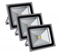 Showlite FL-2050 LED Floodlight IP65 50 Watt 5500 Lumen 3-piece SET