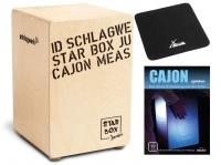 Schlagwerk CP400SB Star Box Kids Cajon Set inkl. Sitzpad und Schule
