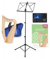 Classic Cantabile H-12 Keltische Harfe 12 Saiten Set