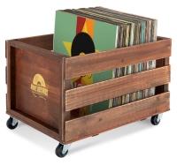 Stagecaptain SPK-100 BN Schallplattenkiste