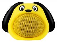 """iCutes Altoparlante Bluetooth """"Dog"""" giallo"""