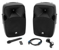 Omnitronic XFM-212AP Aktives Lautsprecherset