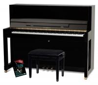 Feurich Mod. 115 Premiere Piano Set Schwarz