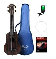 Flight TUS55 Amara Travel Sopran Ukulele Set