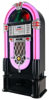 Beatfoxx Golden Age 40s/50s Jukebox with LP, CD, USB, MP3 player, Radio and Bluetooth, Set Including