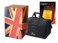 "VOLT Cajon ""Union Jack"" Set inkl. Tasche"
