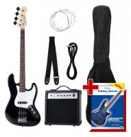 Rocktile Groovers Pack JB E-Bass Set Black - Retoure (Zustand: sehr gut)