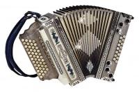 Kärntnerland Kunst Bergkristall Harmonika 4/III B-Es-As-Des