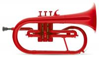 Classic Cantabile MardiBrass Kunststoff Bb-Flügelhorn rot - Retoure (Zustand: akzeptabel)