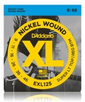 D'Addario EXL125 Super Light Top/Regular Bottom