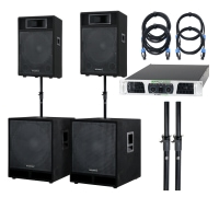 McGrey Powerstage-3000 PA-System 3000 Watts
