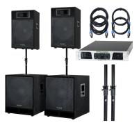 McGrey Powerstage-3000 PA systeem 3000 Watt