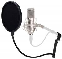 Pronomic CM-100S Studio Großmembran-Mikrofon & Popschutz
