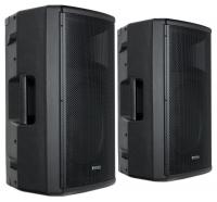 "Pronomic E-215 MA 15"" Cassa attiva 500 Watt Set stereo"