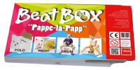 Baff Beatbox Pappe-la-Papp Cajon aus Karton
