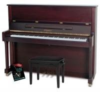 Feurich Mod. 122 Universal Piano Set Bordeaux matt