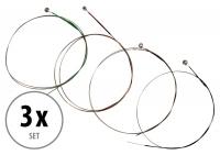 Classic Cantabile VL-34 Cordes de Violon taille 3/4 3x Set