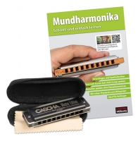 Cascha Master Edition Blues Mundharmonika Set