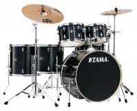 Tama IE62H6W-HBK Imperialstar Drumkit Hairline Black