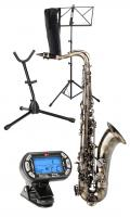 Classic Cantabile Winds TS-450 Antique Yellow saxophone ténor SET