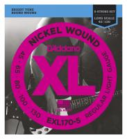 D'Addario EXL170-5 Regular Light 5-string