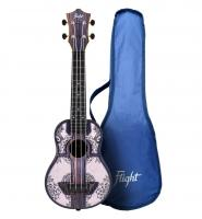 Flight TUS40 Mandala Wood Travel Sopran Ukulele