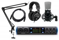 PreSonus Studio 68c 4.4 Audiointerface Podcast Set
