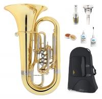 Lechgold FT-19/5L F-Tuba lackiert Deluxe Set