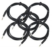 Pronomic Stage INSTS-3 jack cable 3 m Stereo 5 Piece Set