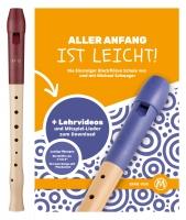 Moeck Blockflöte 1020 Flauto 1 Plus Deutsch inkl. Flötenschule