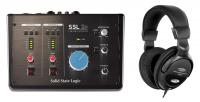 SSL 2+ USB-C Audio-Interface Set