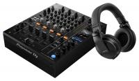 Pioneer DJ DJM-750MK2 + HDJ-X5-K Schwarz SET