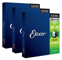 Elixir 19002 Electric Optiweb Super Light 3er Set