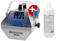 Showlite BM-60 machine à bulles de savon, y compris fluide